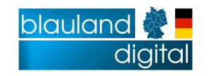 Politisches Marketing – Blauland Digital Logo